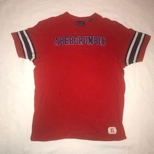 Abercrombie & Fitch Vintage Appliqué Athletic Tee